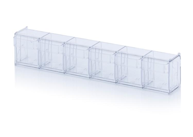 Výklopná nádoba – 6 boxov