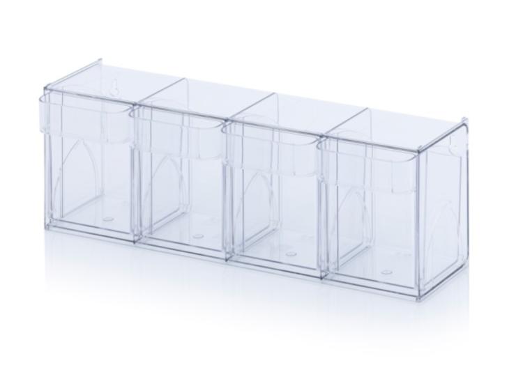 Výklopná nádoba – 4 boxy